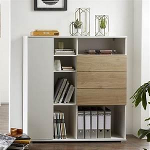 Meuble Bureau Rangement : meuble de rangement bureau design oslo so inside ~ Teatrodelosmanantiales.com Idées de Décoration