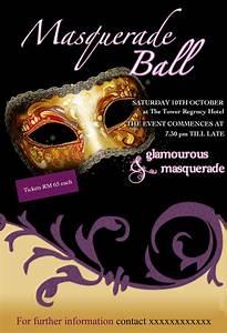portfolio by radhika kapoor at coroflotcom With masquerade ball poster template