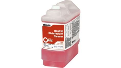 Neutral Disinfectant Cleaner | Ecolab