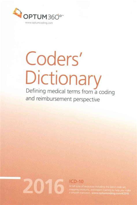 medical coding billing coder dictionary terms coders reimbursement perspective defining terminology hcpcs overstock specialists code