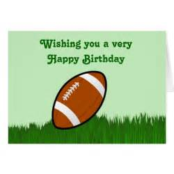 Happy Birthday with Football