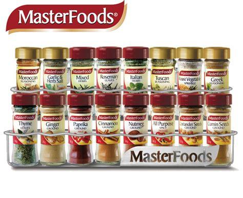 Spice Racks Australia by Catchoftheday Au Masterfoods Spice Rack 16pk