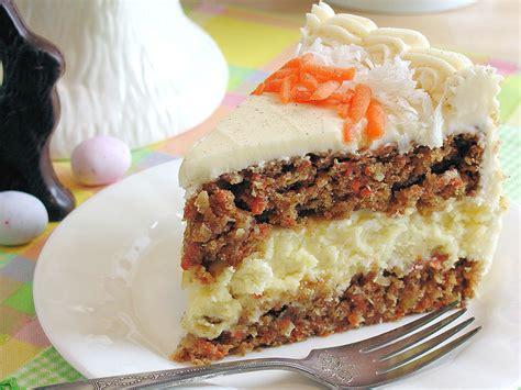 carrot cake cheesecake cake bakery style