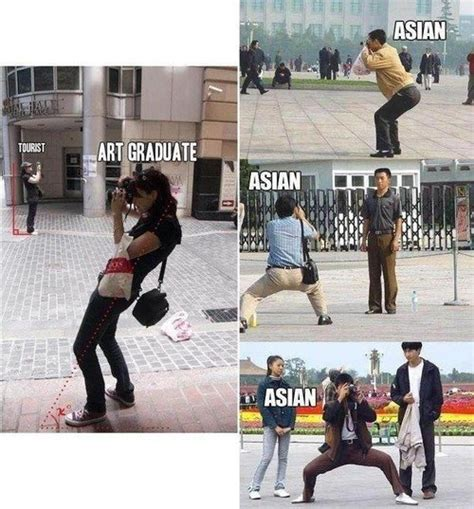 Asian Photographer Meme - taking pictures