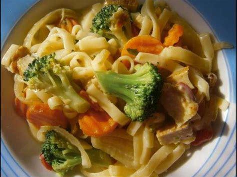recettes de cuisine végétarienne et pâtes