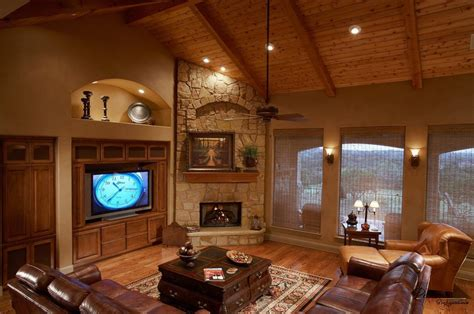living room living room design with corner fireplace and