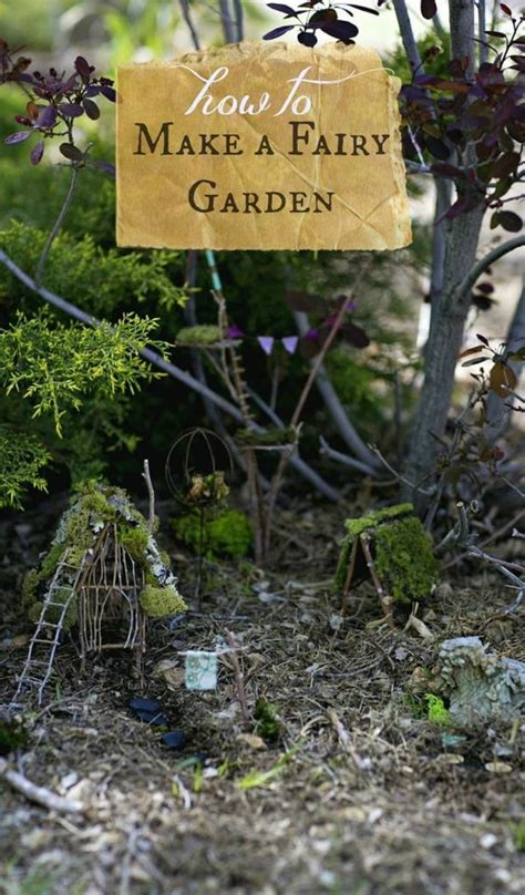 how to make your own enchanted garden a project for