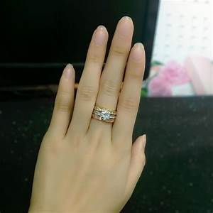 Engagement ring set picture more detailed picture about for Anti wedding ring
