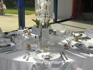 Decoration De Table De Mariage : d coration de table pour un mariage tout en blanc ~ Melissatoandfro.com Idées de Décoration