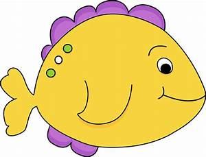 Yellow Fish Clip Art - Yellow Fish Image