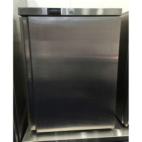 petit frigo de bureau petit frigo réfrigérateur en inox à poser capacité de 145 l