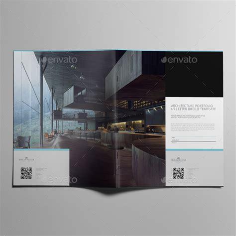 14827 architecture portfolio template architecture portfolio us letter bifold template by keboto