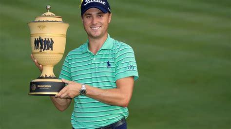 Golf: Justin Thomas remporte le Bridgestone Invitational ...