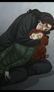 Snape and Lily by kyla79 on DeviantArt