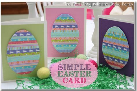 cute homemade easter cards ideas  frugal girls