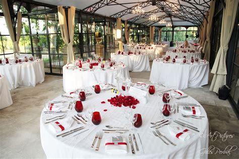 Décoration Table Mariage Rouge Et Blanc  Fashion Designs