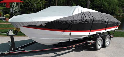 Runabout Boat Cover by Boatguard Eclipse V Hull Runabout Bow Rider Boat Cover