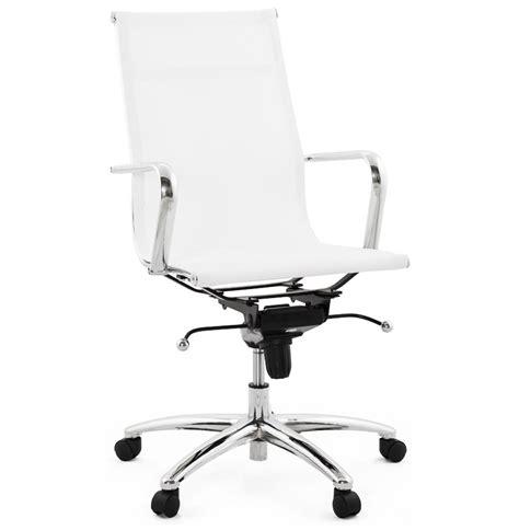 fauteuil de bureau moderne air blanc fauteuil design