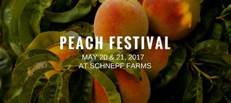 Peach Festival Schnepf Farms Greater Phoenix Arizona
