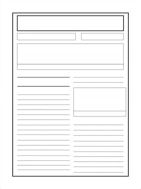 newspaper layout template 8 newspaper report templates illustration design files free premium templates