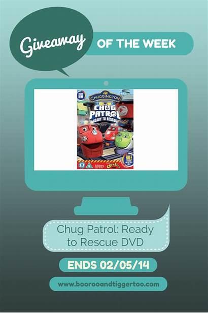 Patrol Chug Rescue Dvd Ready Chuggington Giveaway
