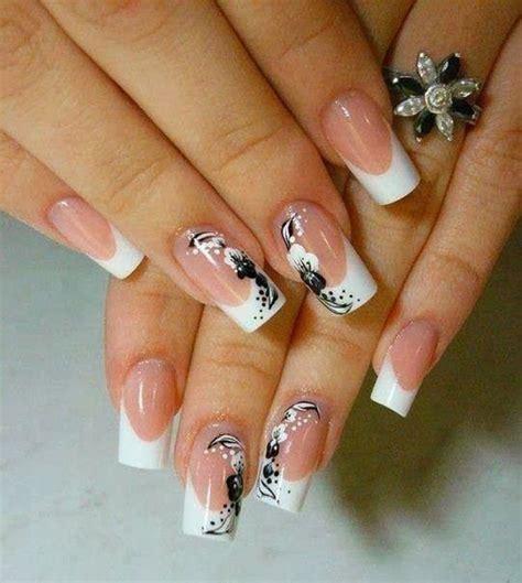 35 French Nail Art Ideas - nenuno creative
