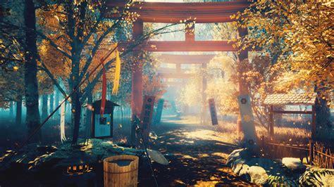 wallpaper japan scenery oriental   art wallpaper