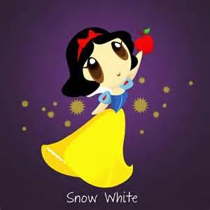 Chibi Disney Princess Snow White