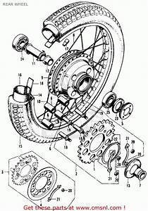 Wtb Cb500t    Cb450 Parts  Case Protector  Rear Wheel Dust