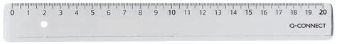 20 cm langes, stabiles lineal aus kunststoff inkl. Lineale Economy, 20 cm