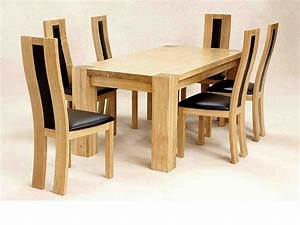 Solid OAK Kitchen Table and Chairs - Decor IdeasDecor Ideas