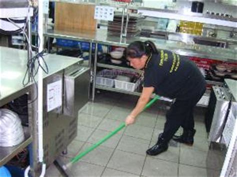 Notes On Kitchen Stewarding by Cleaning Services Singapore Creation Pte Ltd