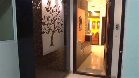 Foyer area and living room designs - YouTube