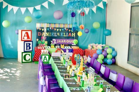 Kara's Party Ideas Barney & Friends Abc Birthday Party