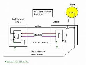 3 Way Switch With Pilot Light - Electrical