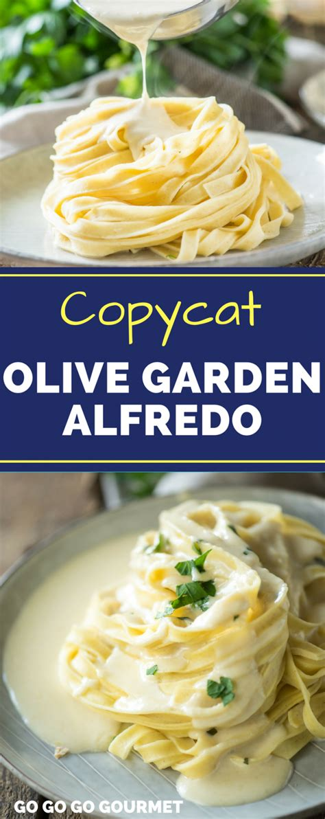 This vegan alfredo sauce is incredibly rich and creamy. BEST Olive Garden Alfredo Recipe - Easy Copycat Alfredo ...