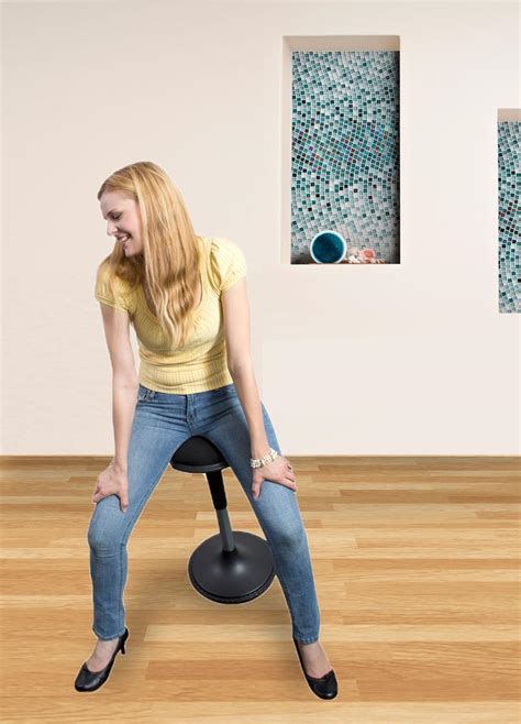 Sitting Chair by Wobble Stool Standing Desk Chair For Active