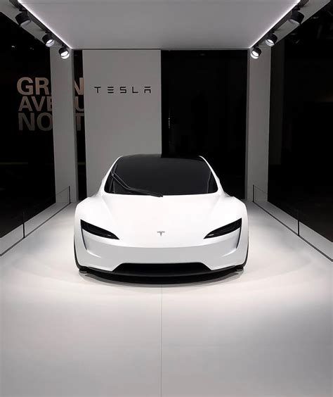 The car was unveiled at a special event at tesla's headquarter in california which felt more like an apple iphone reveal. New Tesla Roadster pictures released as the car debuts at ...