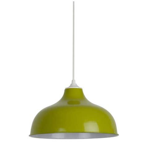potence cuisine suspension rétro verte en métal suspension luminaire