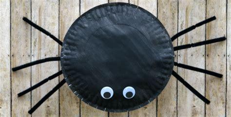 paper plate spider craft  kindergarten connection