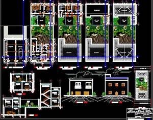 plan dwg maison moderne gratuit With plan de maison dwg gratuit