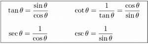 Sin Cos Tan Berechnen : summary of trigonometric identities ~ Themetempest.com Abrechnung