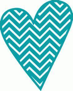 chevron heart clipart   cliparts  images