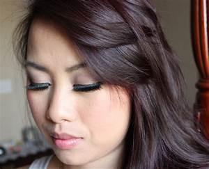 Loreal Burgundy Black Hair Color Medium Hair Styles