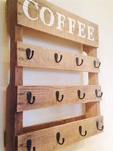 Diy Coffee Cup Holder Wooden Mug Rack Furniture From Wood