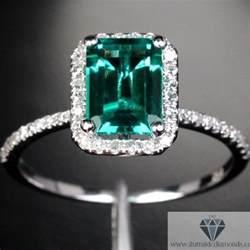 emerald engagement rings emerald cut emerald halo pave engagement ring iturraldediamonds