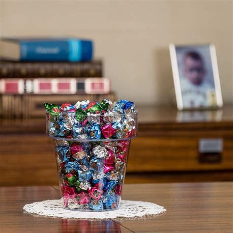 vaso di plastica vaso trasparente in plastica porto 20 25