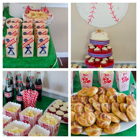 Catch A Baseball Birthday Party  Home Party Ideas