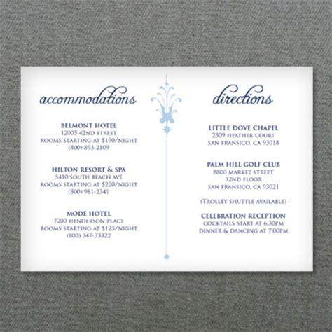 deco scroll wedding reception card template  print