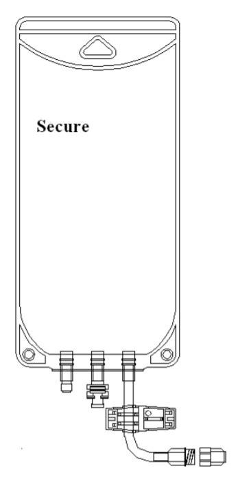 Metrix-Secure 66215 - 1000ml EVA Legless Bag Female Screw
